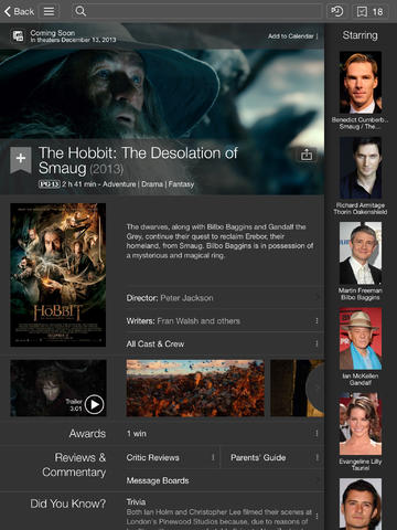 IMDB 4.0 for iOS (iPad screenshot 002)