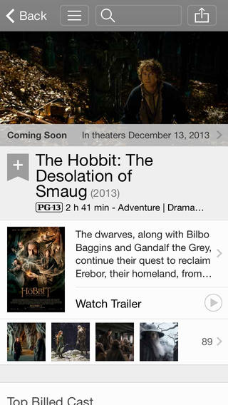 IMDB 4.0 for iOS (iPhone screenshot 002)