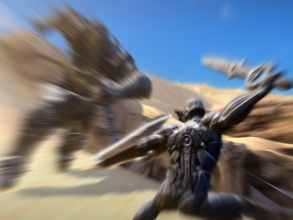 Infinity Blade exploded