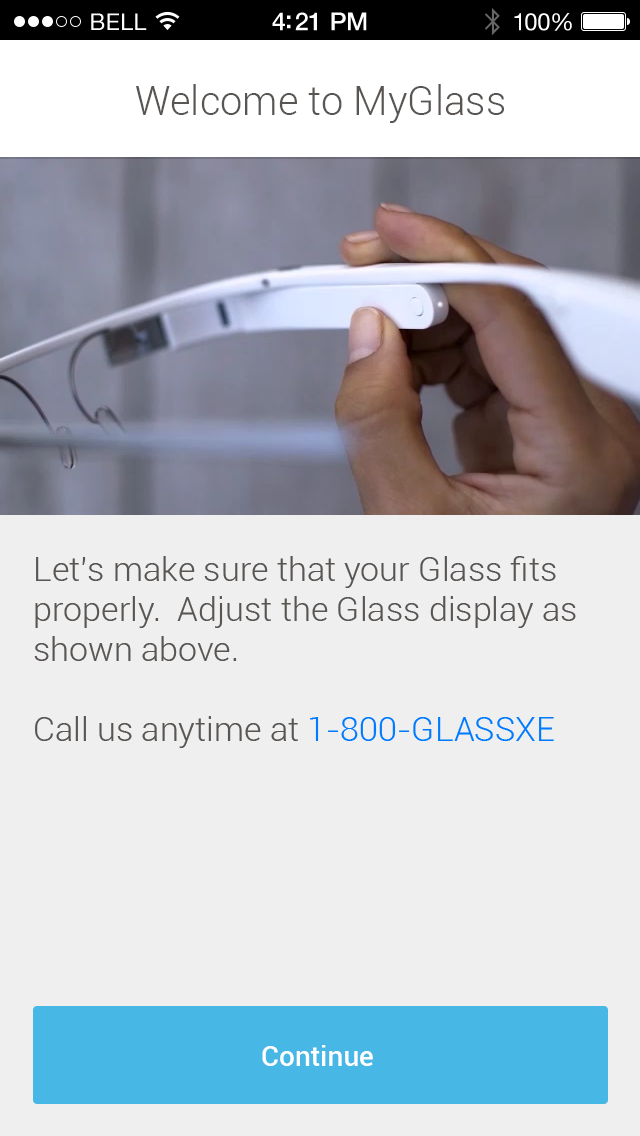 MyGlass 1.0 for iOS (iPhone screenshot 002)