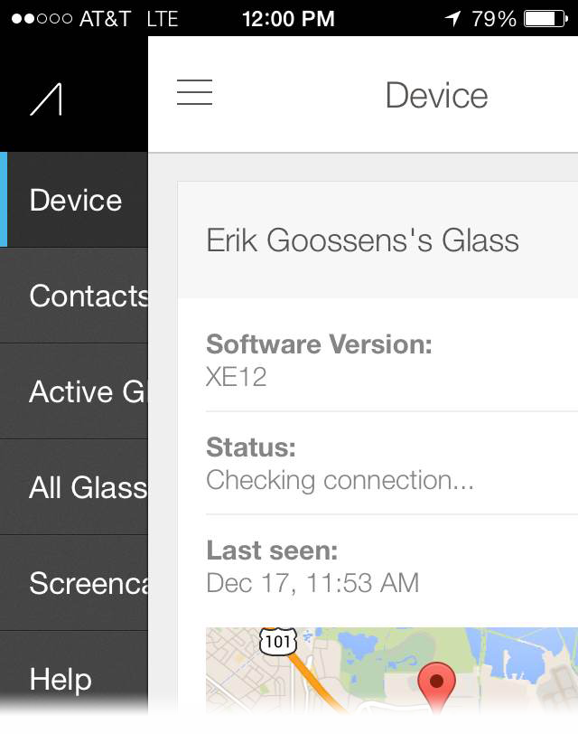 MyGlass for iOS (teaser 002)