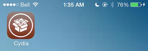New Cydia icon