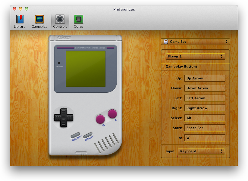 OpenEmu for Mac (screenshot 005)