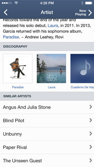Pandora 5.1 for iOS (iPhone screenshot 003)