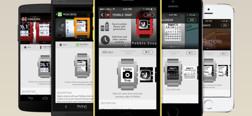Pebble smartwatch apps (teaser 001)