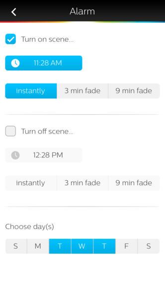 Philips Hue 1.2 for iOS (iPhone screenshot 002)
