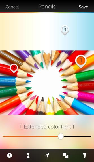 Philips Hue 1.2 for iOS (iPhone screenshot 003)