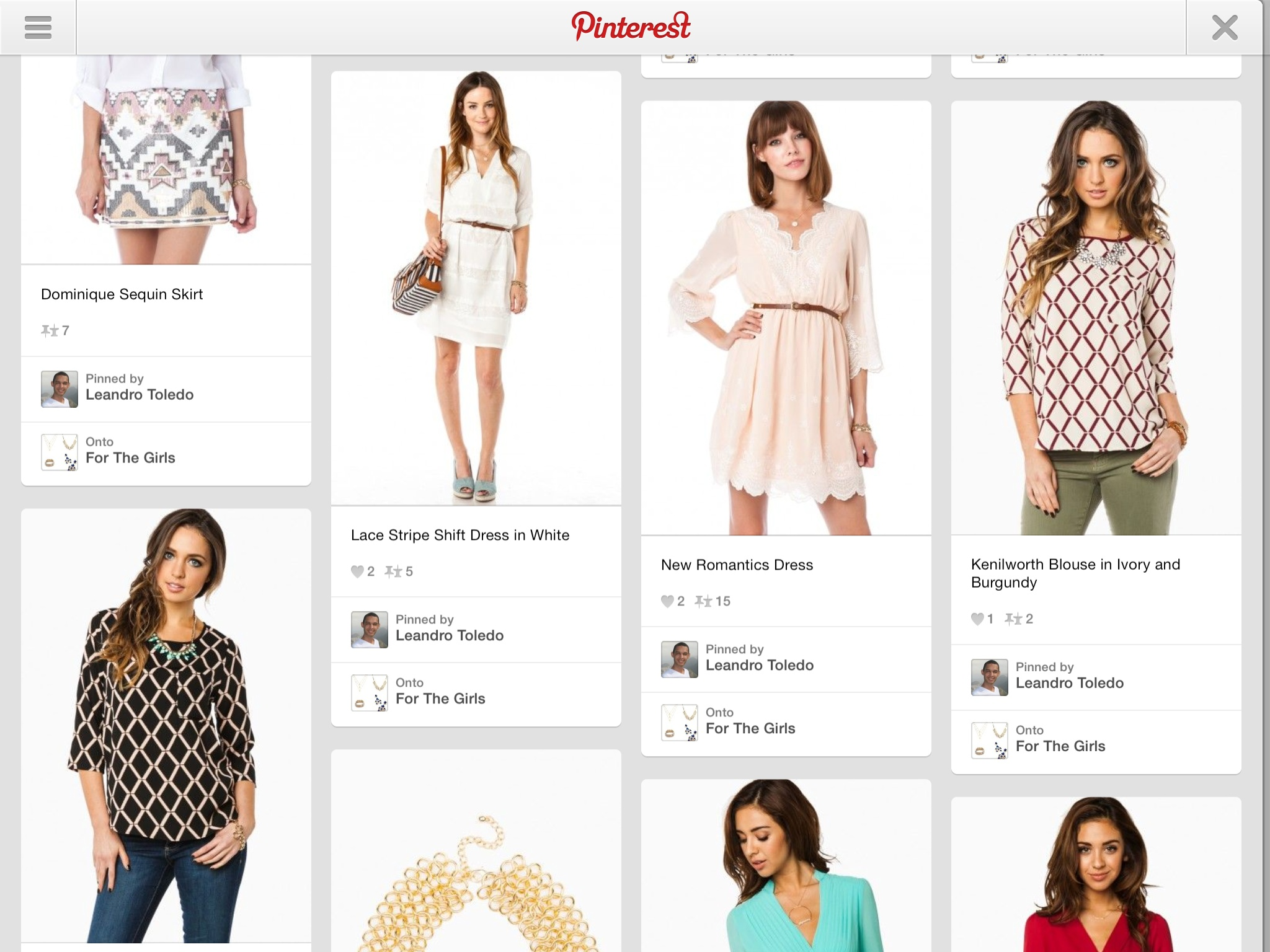 Pinterest 3.2 for iOS (iPad screenshot 001)