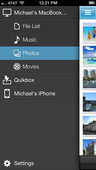 QuikIO for iOS (iPhone screenshot 002)