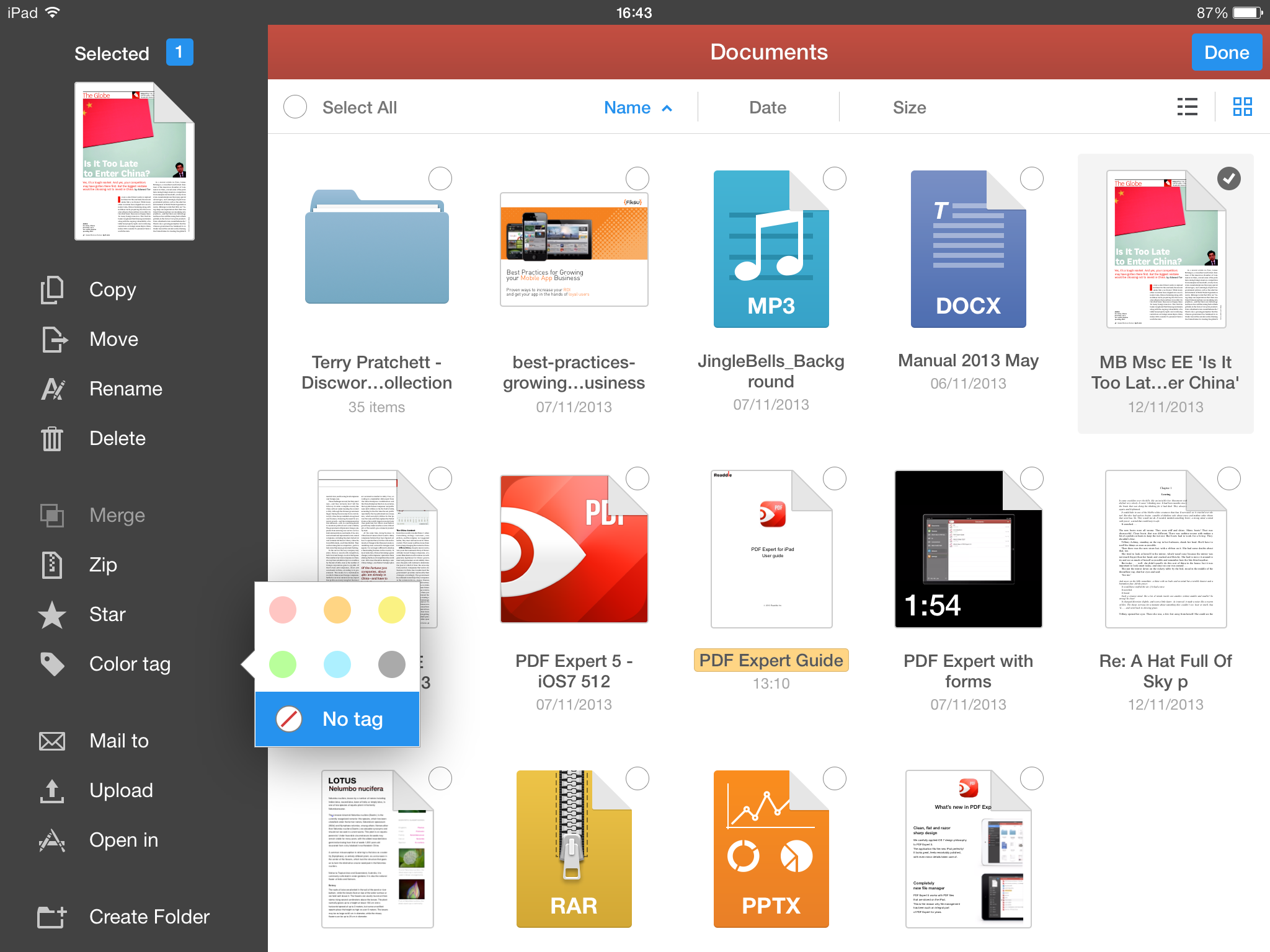 Readdle PDF Expert 5.0.1 for iOS (iPad screenshot 002)