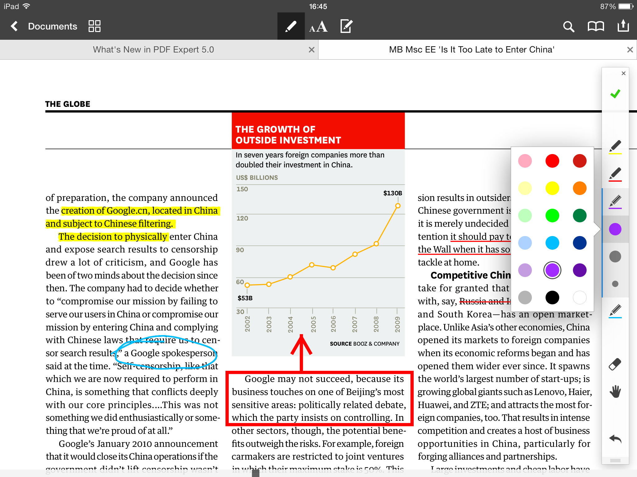 Readdle PDF Expert 5.0.1 for iOS (iPad screenshot 003)