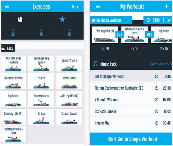 Runtastic Six Pack Abs 1