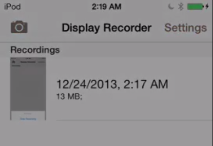 Ryan Petrich Display Recorder