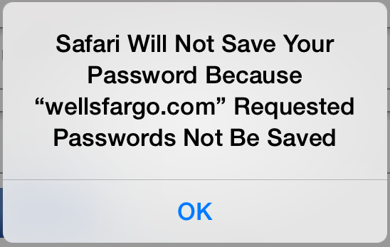 Safari Will Not Save Passwords Featured