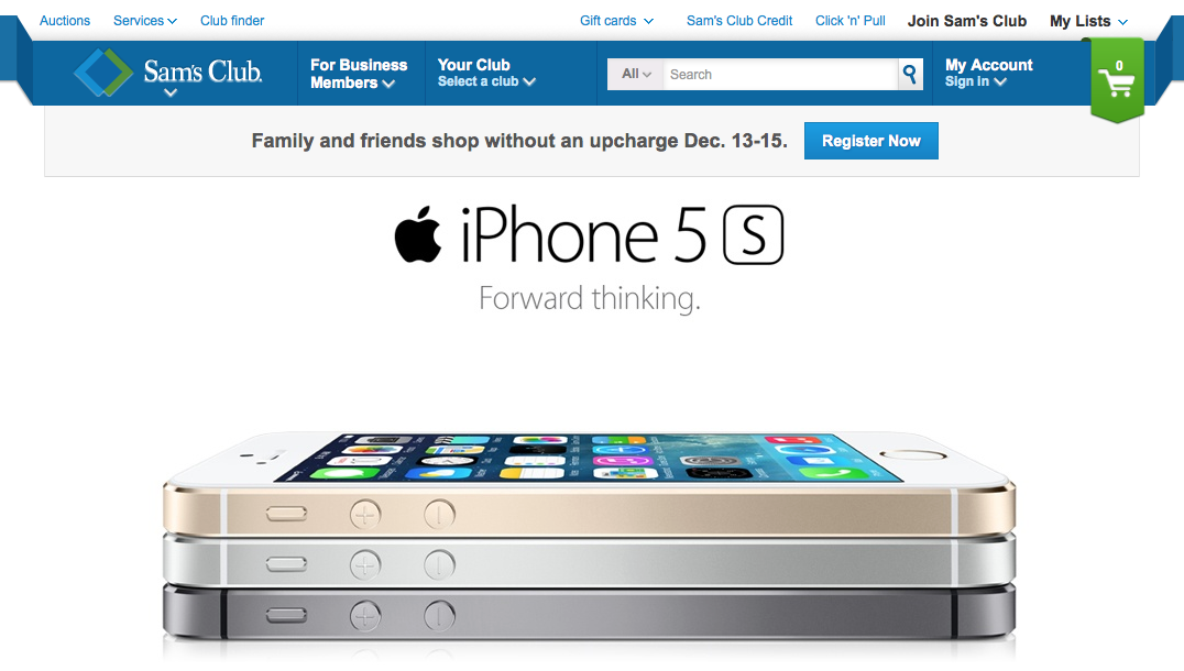 sams club iphone iphone 5s price dropped to 119 at sam s club through january 8590