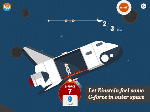 Stephen Hawking Snapshots of the Universe 1.0 for iOS (iPad screenshot 002)