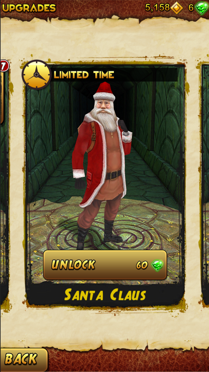 Temple Run 2 (December 2013 update, iPhone screenshot 001)