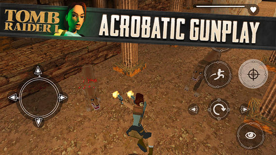 Tomb Raider I 1.0 for iOS (iPhone screenshot 001)