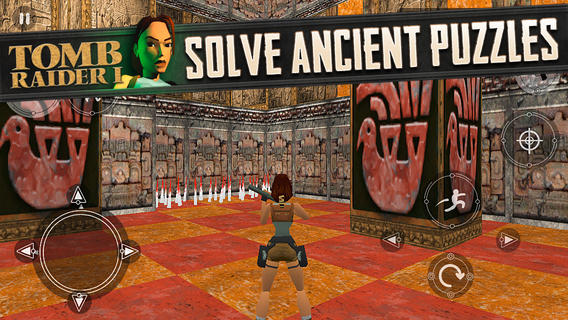 Tomb Raider I 1.0 for iOS (iPhone screenshot 002)