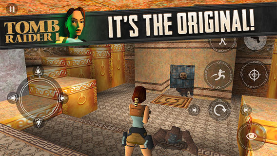 Tomb Raider I 1.0 for iOS (iPhone screenshot 005)