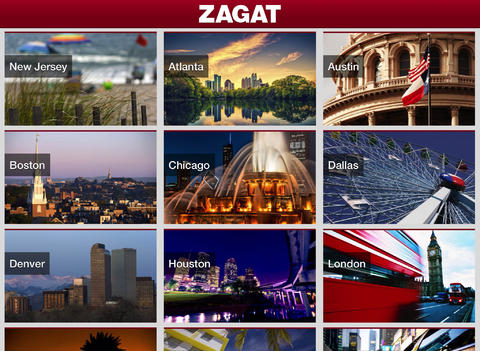 Zagat 2.0 for iOS (iPad screenshot 001)