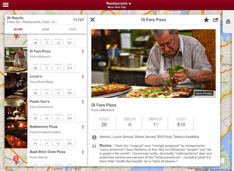 Zagat 2.0 for iOS (iPad screenshot 003)