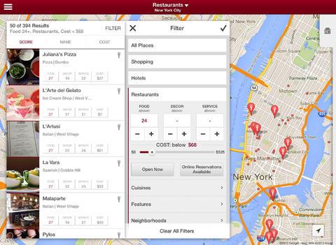 Zagat 2.0 for iOS (iPad screenshot 004)
