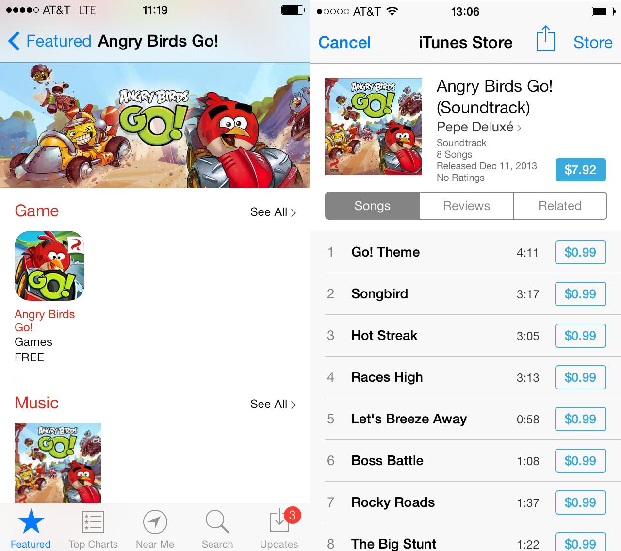 angry birds go app