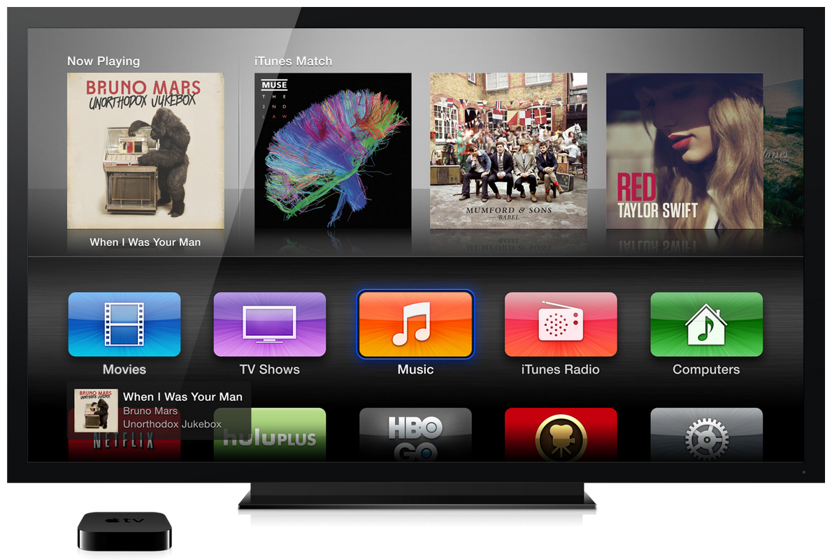 how to update apple tv remote firmware