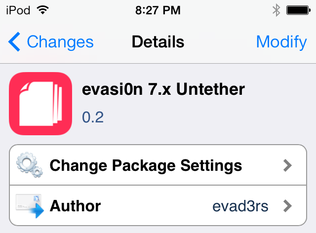 evasi0n 7.x untether package