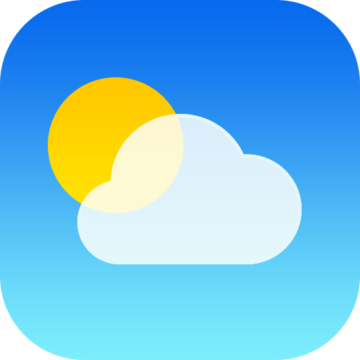 iOS 7 weather app icon