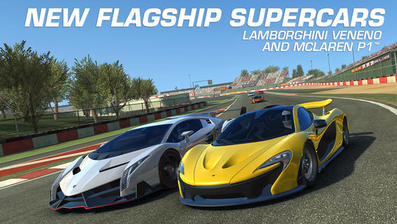 real racing 3 update adds real time multiplayer new cars and more. Black Bedroom Furniture Sets. Home Design Ideas