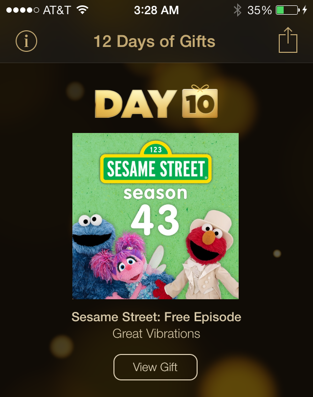 12 days day 10