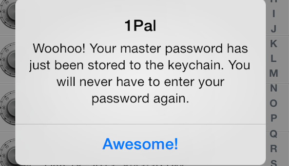 1Pal Store Keychain