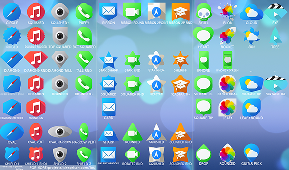 All Icon Masks iOS 7
