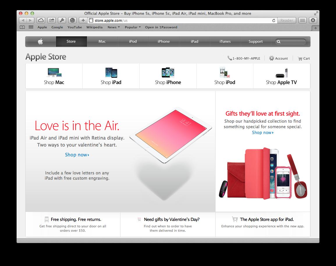 Apple 2014 Valentine Day (web screenshot 001)