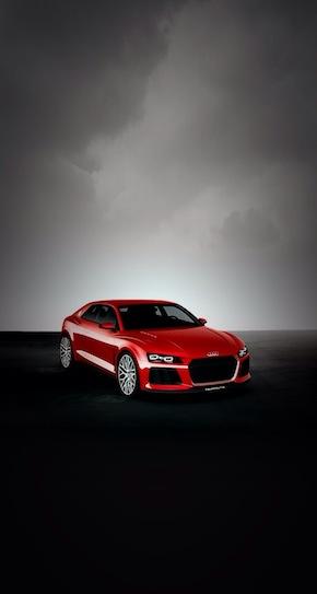 Audi Quattro Laserlight wallpaper parallax AR7 preview