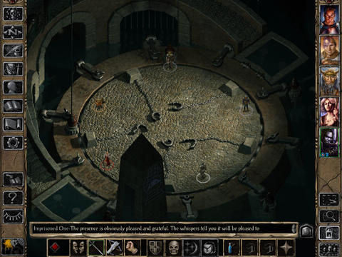 Baldur's Gate II Enhanced Edition 1.2 for iOS (iPad screenshot 001)