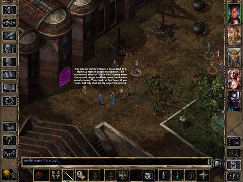 Baldur's Gate II Enhanced Edition 1.2 for iOS (iPad screenshot 002)