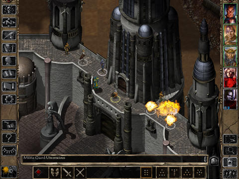 Baldur's Gate II Enhanced Edition 1.2 for iOS (iPad screenshot 003)