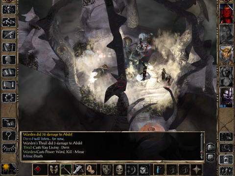 Baldur's Gate II Enhanced Edition 1.2 for iOS (iPad screenshot 004)