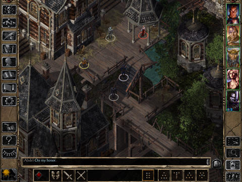 Baldur's Gate II Enhanced Edition 1.2 for iOS (iPad screenshot 005)