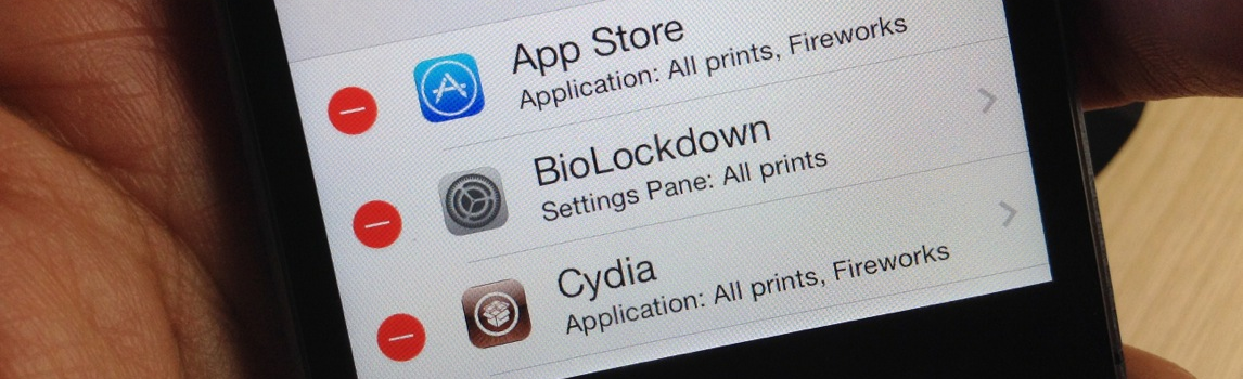 BioLockdown Best Touch ID Tweaks