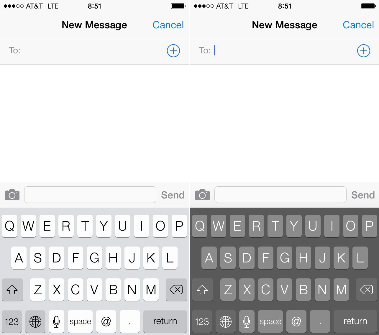 How to always get a Dark Keyboard on your iPhone