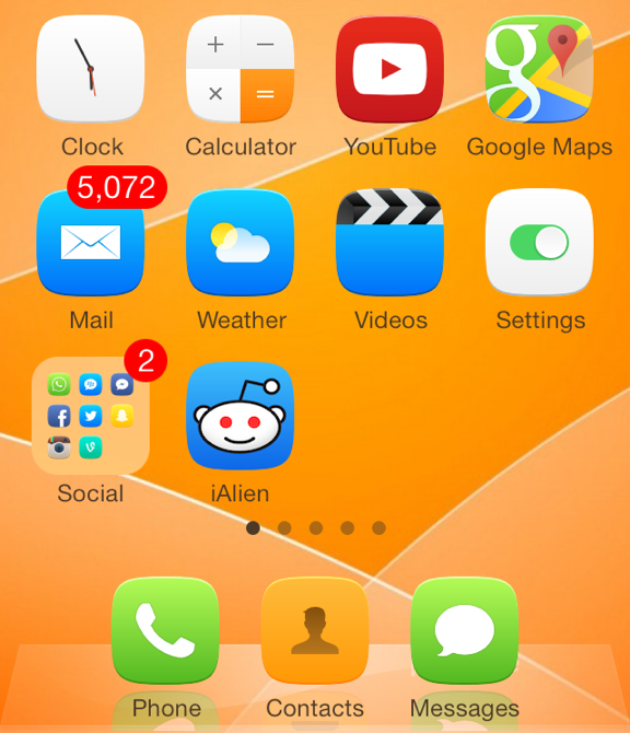 ClassicDock for iOS 7