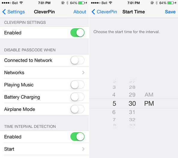 CleverPin for iOS 7