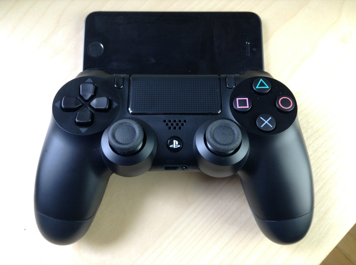 Controllers For All PS4 Dual Shock 4 iOS 7