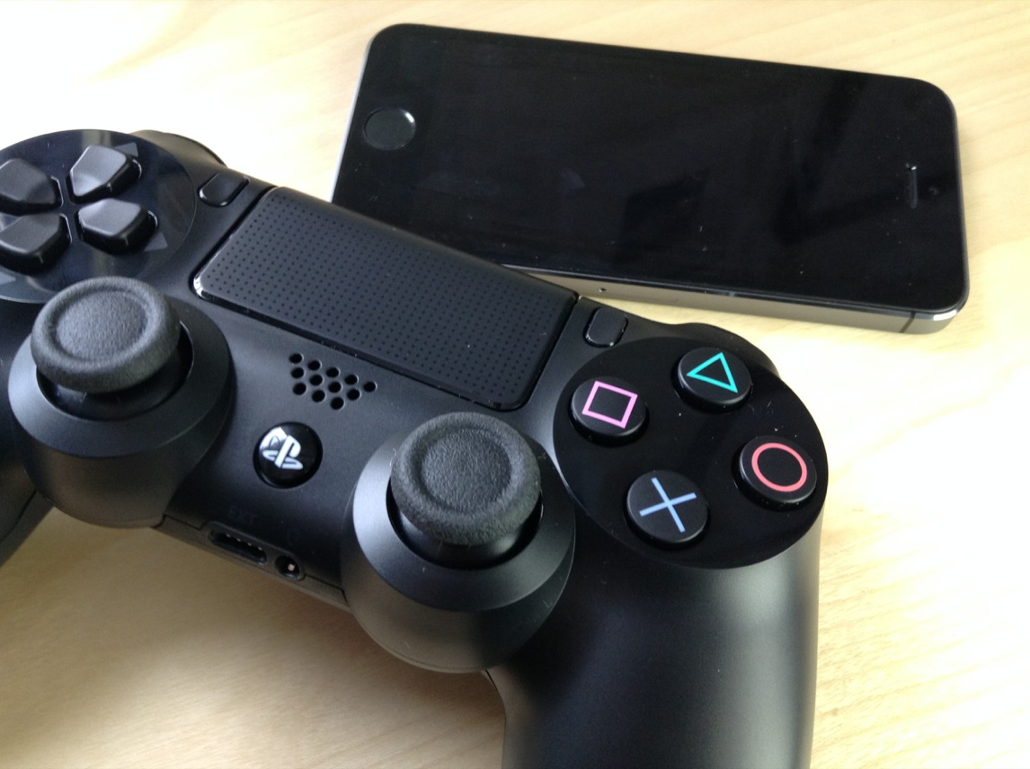 How to use the PS4 Dual Shock 4 controller to play iOS games