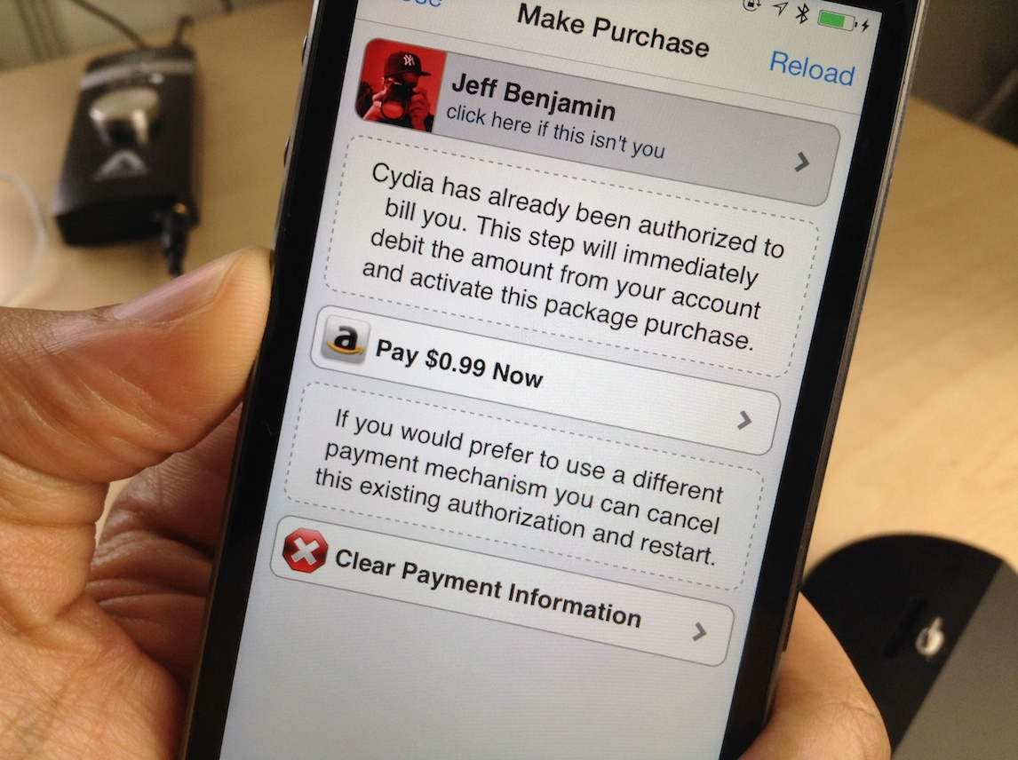 How to make Cydia purchases the easy way