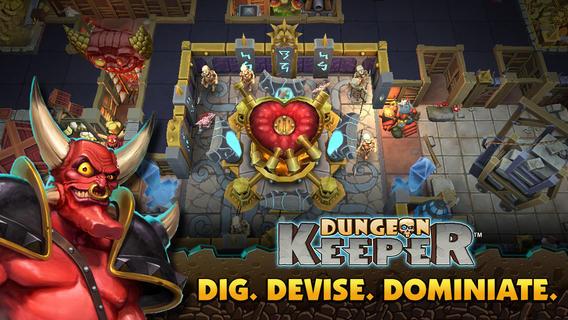 Dungeon Keeper 1.0 for iOS (iPad screenshot 001)